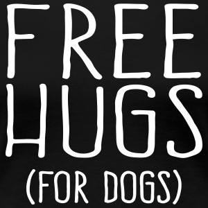 Free Hugs for dogs - Frauen Premium T-Shirt