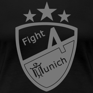 Fight 4 München - Logo - Premium-T-shirt dam