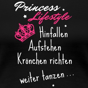 Princess Lifestyle - t shirt für Prinzessinen - Frauen Premium T-Shirt