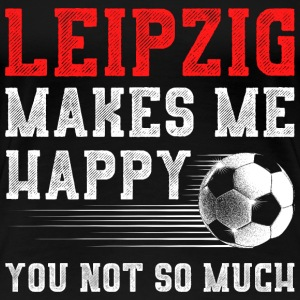 MAKES ME HAPPY LEIPZIG - Frauen Premium T-Shirt