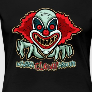 Killer Clown T-shirt - T-shirt Premium Femme