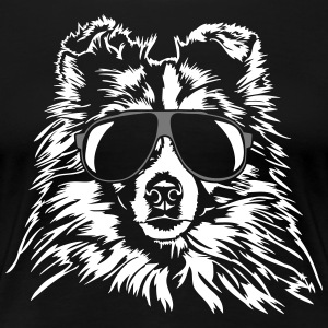 SHETLAND SHEEPDOG SHELTIE cool - Frauen Premium T-Shirt