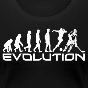 EVOLUTION HOCKEY - Premium-T-shirt dam