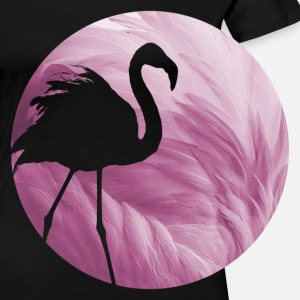 Animal Planet Flamingo Feathers Silhouette