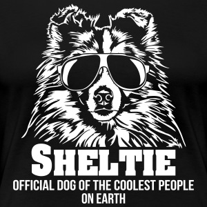 SHELTIE coolest people - Frauen Premium T-Shirt
