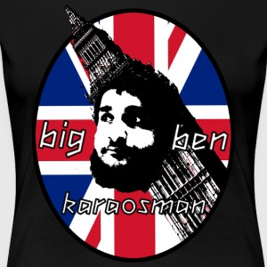 BigBen Karaosman Head Design - No Printing On Back - Women's Premium T-Shirt