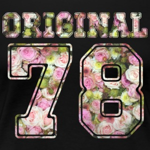 1978 Original 78 - Frauen Premium T-Shirt