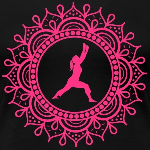 YOGA - PILATES - MÉDITATION - T-shirt Premium Femme