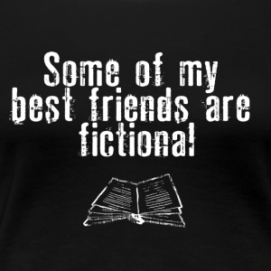 FICTIONAL FRIENDS - Camiseta premium mujer
