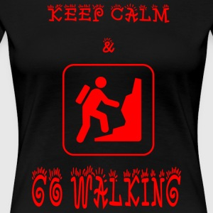 GO_WALKING - Women's Premium T-Shirt