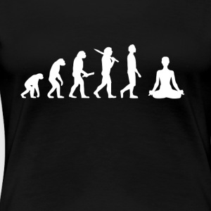 Yoga Evolution - Frauen Premium T-Shirt