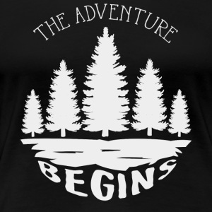 The adventure begins - Frauen Premium T-Shirt