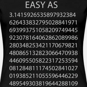 Easy as Pi Numbers