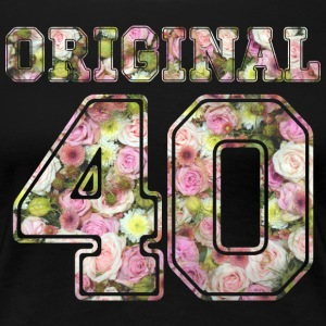 Original 40 - Frauen Premium T-Shirt