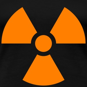 Nuclear sign - Vrouwen Premium T-shirt