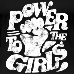 Girl Power Feminist Statement Motive