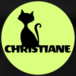 Christiane Name Vorname - Frauen Premium T-Shirt