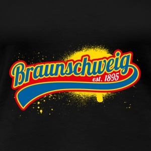 Football League Allemagne Braunschweig Lions 1895 - T-shirt Premium Femme