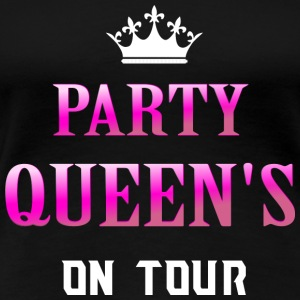Party Queen on Tour - Koszulka damska Premium