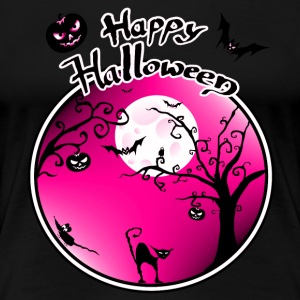 Happy Halloween - Dame premium T-shirt