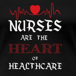 Nurse heart - Women's Premium T-Shirt