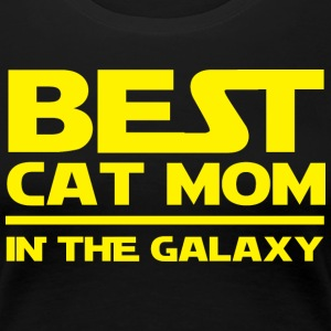 Cat Shirt Galaxy - Frauen Premium T-Shirt