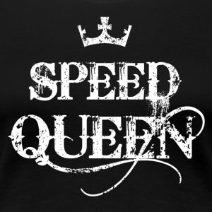 Speed Queen -Pepp Amphe lustige Drogen Designs - Frauen Premium T-Shirt