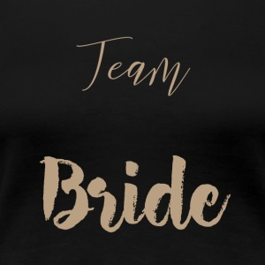hold Bride - Dame premium T-shirt