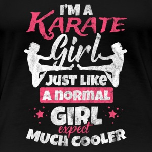Gift for karate fighter - Women's Premium T-Shirt