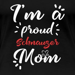 Schnauzer Shirt for proud Schnauzer - Women's Premium T-Shirt