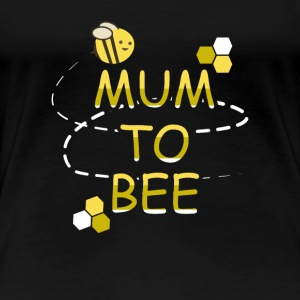 Mum To Bee Mother To Be Pregnant Tee Shirt Gift