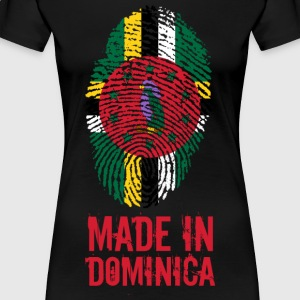 Made In Dominica Karibik - Frauen Premium T-Shirt