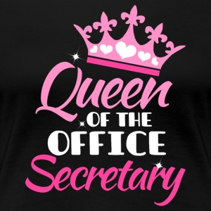 Queen of the office - Sekretarz - Koszulka damska Premium