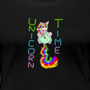 UNICORN TIME - Premium T-skjorte for kvinner