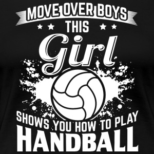 handbal MOVE OVER boys - Vrouwen Premium T-shirt