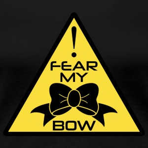 CheerleaderCollection Fear My Bow Multicolor - Frauen Premium T-Shirt