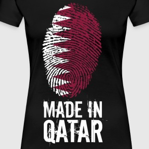 Made In Qatar / Qatar / قطر - T-shirt Premium Femme