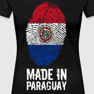 Made In Paraguay / Paraguay - Dame premium T-shirt