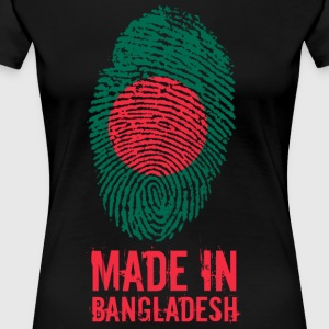 Made In Bangladesh / Bangladesh / বাংলাদেশ - Maglietta Premium da donna