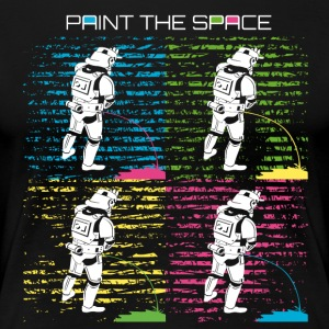 Troop Art - PAINT THE SPACE - Stormtrooper Party - Frauen Premium T-Shirt
