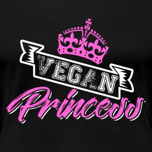 Vegan Princess - Premium T-skjorte for kvinner