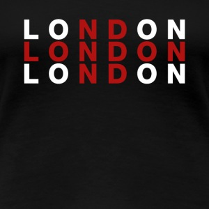London, Großbritannien-Flaggen-Hemd - London T-Shirt - Frauen Premium T-Shirt