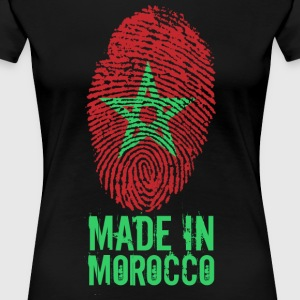 Made in Marocco / Made in Morocco المغرب - Maglietta Premium da donna