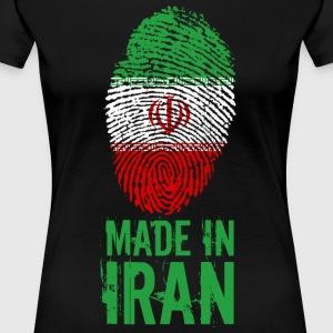 Made in Iran / Made in Iran ايران Īrān Perzië - Vrouwen Premium T-shirt