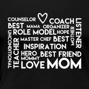 LoveMom - Mothersday - Women's Premium T-Shirt