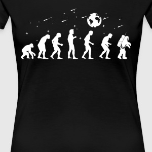 Evolution Astronaut Astrologe - Frauen Premium T-Shirt