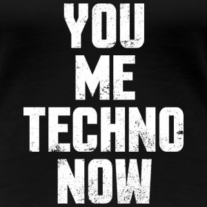 Techno saying electro music festival gift