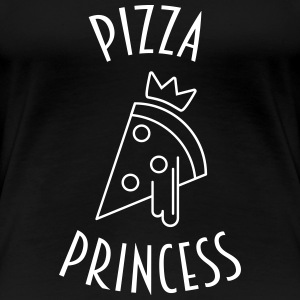 Pizza Princess - Vrouwen Premium T-shirt