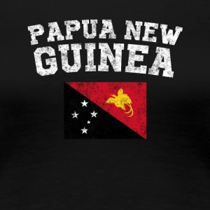 Papua New Guinea Flag Shirt - Women's Premium T-Shirt