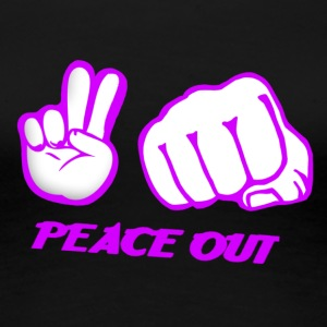 Peace out - Women's Premium T-Shirt